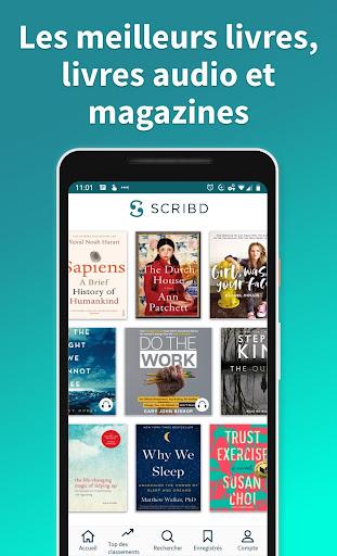 Scribd : livres audio et numériques screenshot 1