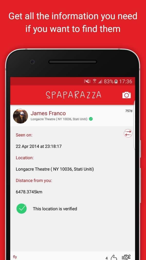 Spaparazza screenshot 2
