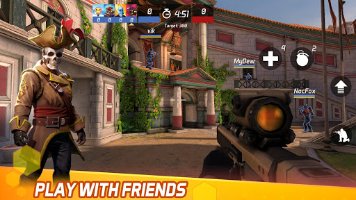 MaskGun Multiplayer FPS - Free Shooting Game screenshot 5