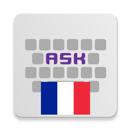French for AnySoftKeyboard أيقونة
