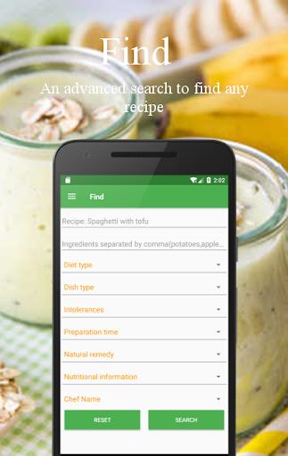 Vegetarian and vegan recipes screenshot 6