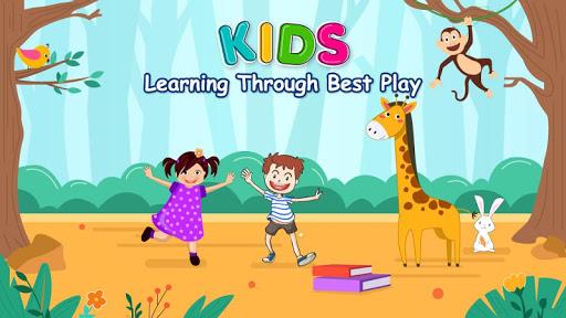 Kindergarten Kids Learning App : Educational Games 1 تصوير الشاشة
