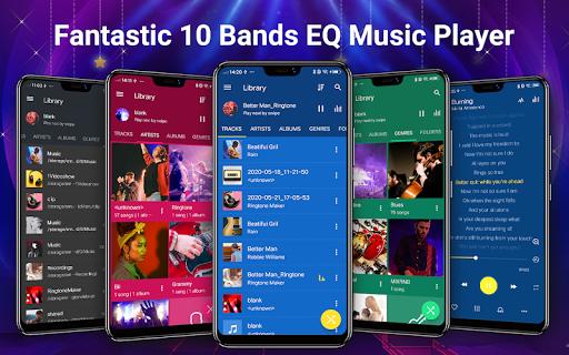 Pemutar musik - MP3 Pemain & 10 Band Equalizer screenshot 1