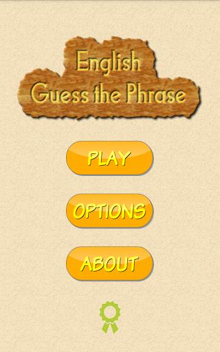 English Guess The Phrase screenshot 2