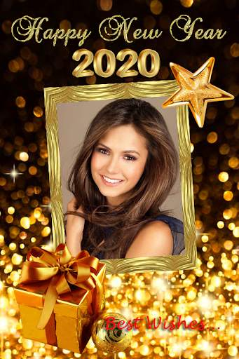 2021 New Year Photo Frames Greeting Wishes screenshot 8