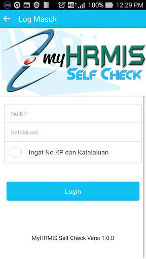 MyHRMIS Self Check screenshot 2