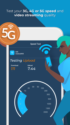 Opensignal - 5G, 4G, 3G Internet & WiFi Speed Test screenshot 1