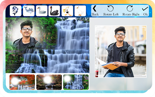 Waterfall Photo Editor and Photo Frames screenshot 4