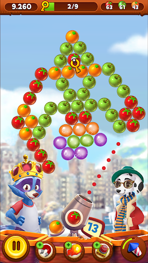 Bubble Island 2 - Pop Shooter & Puzzle Game 6 تصوير الشاشة