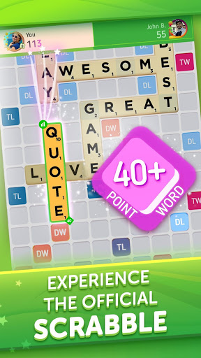 Scrabble® GO - New Word Game स्क्रीनशॉट 1