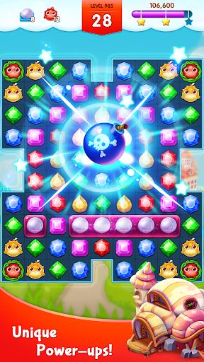 أسطورة الجواهر - المباراة 3 اللغز 4 تصوير الشاشة