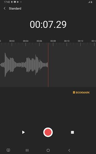 Samsung Voice Recorder screenshot 8