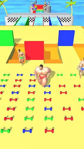 Muscle Race 3D screenshot 1
