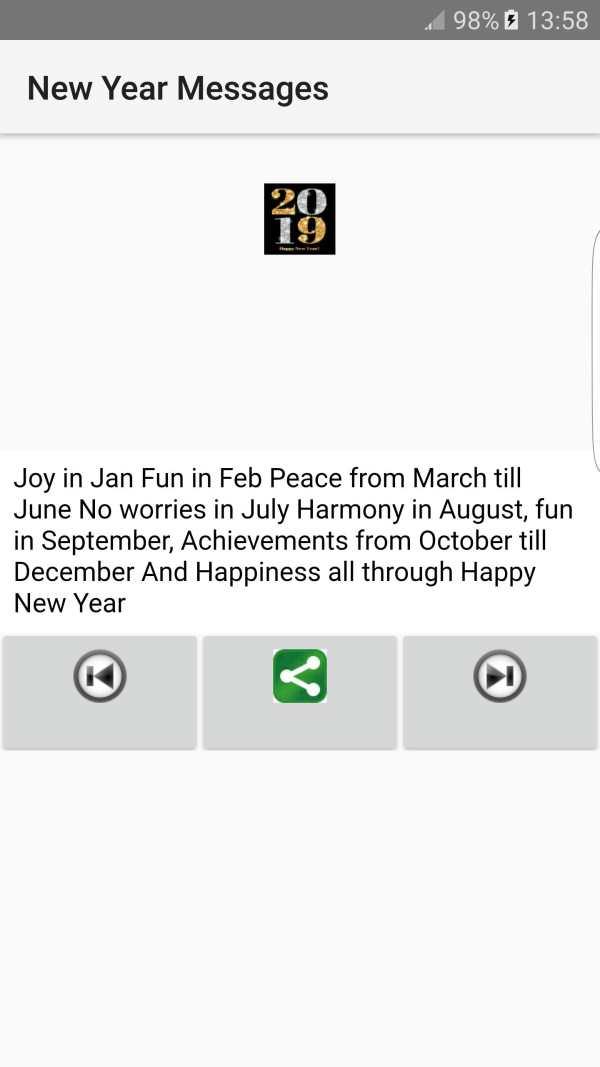 2019 New Year Messages screenshot 4