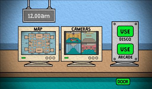 Emoji Five Nights Survival 1 تصوير الشاشة