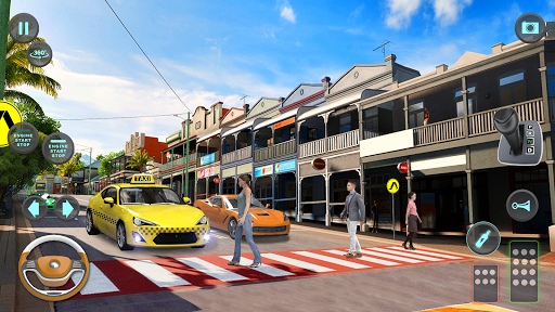 City Taxi Driving simulator: PVP Cab Games 2020 screenshot 7