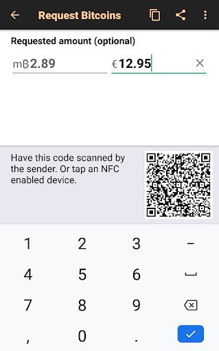 Bitcoin Wallet 3 تصوير الشاشة