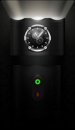 Flashlight Torch with Clock screenshot 2
