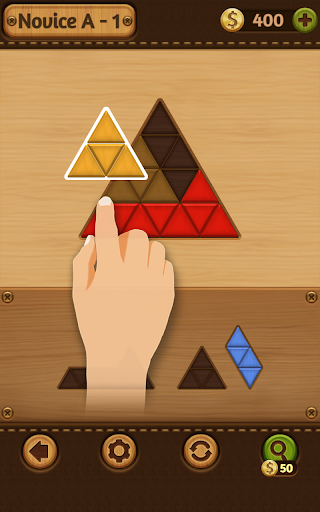 Block Puzzle Games: Wood Collection 10 تصوير الشاشة
