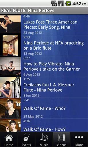 REAL FLUTE: Nina Perlove screenshot 3