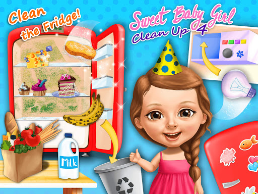 Sweet Baby Girl Cleanup 4 - House, Pool & Stable screenshot 15