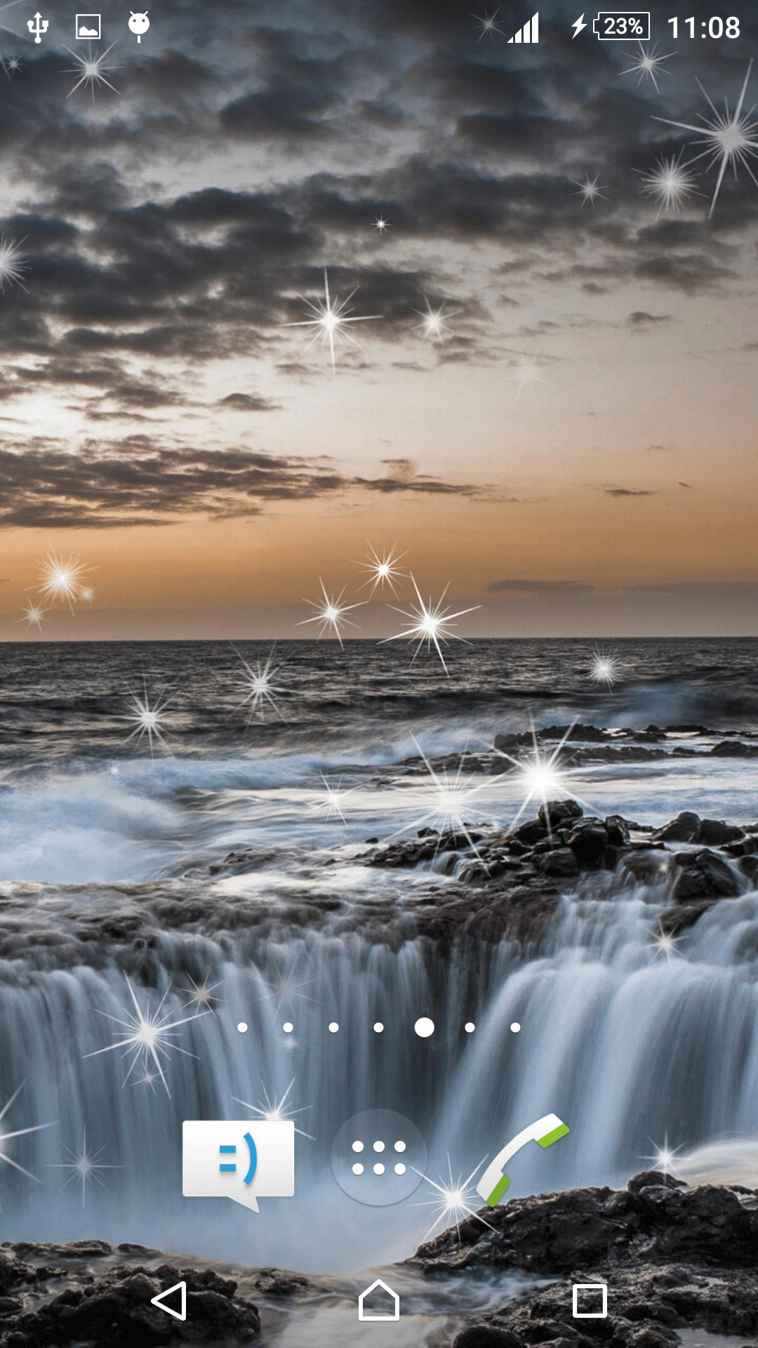Waterfall Live Wallpaper screenshot 2