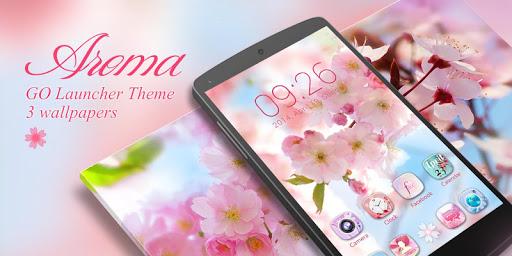 Aroma GO Launcher Theme screenshot 7