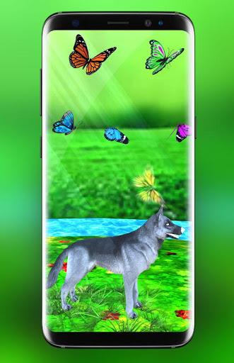 Pet Dog Live Wallpaper HD: Cute Dog Backgrounds screenshot 3