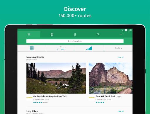 ViewRanger: Trail Maps for Hiking, Biking, Skiing screenshot 3