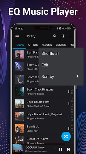 Music Player - Audio Player & 10 Bands Equalizer screenshot 2