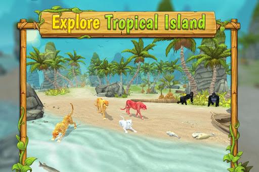 Cheetah Family Sim - Animal Simulator 5 تصوير الشاشة