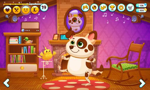 Duddu -حيواني الأليف الافتراضي 3 تصوير الشاشة