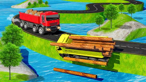 Offroad Transport Truck Driving Simulator screenshot 3