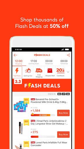 Shopee 3.3 Mega Shopping Sale 5 تصوير الشاشة