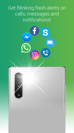 Flash Alerts Pro: Flash blinks on calls & messages screenshot 1