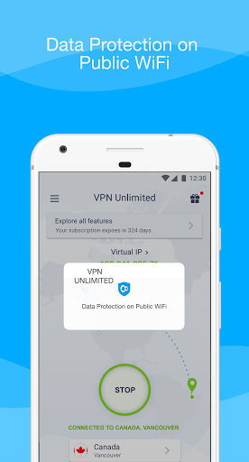 KeepSolid VPN Unlimited WiFi Proxy with DNS Shield screenshot 7