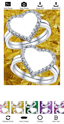 Lovely Ring Photo Frames screenshot 3