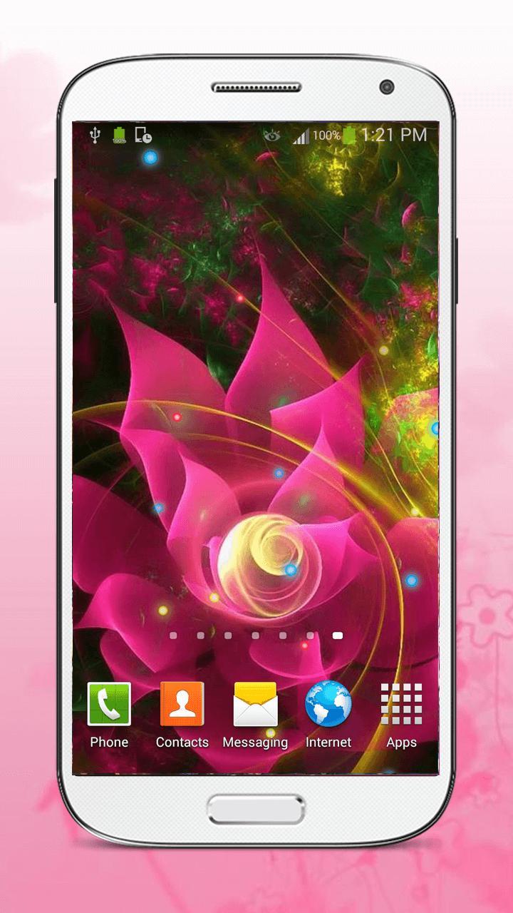 Luminous Flower Live Wallpaper screenshot 3