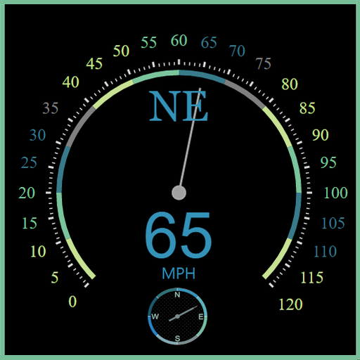 Regency Compass GPS & Speedometer Street View icon