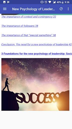New Psychology of Leadership screenshot 2