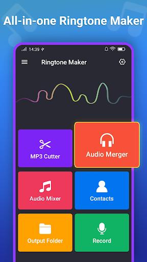 صانع النغمات MP3 محرر 1 تصوير الشاشة