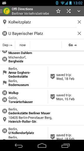 Offi - Journey Planner screenshot 2