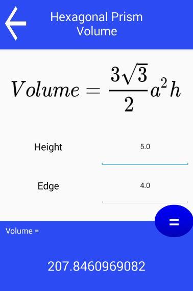 Volume Calculator screenshot 3