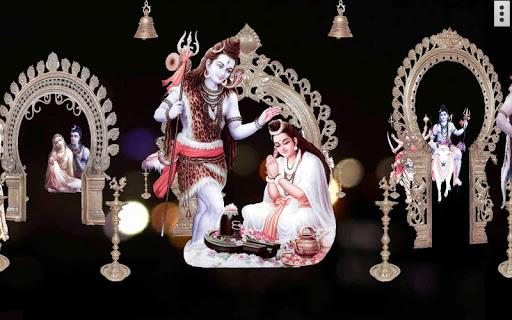 4D Shiv Parvati Live Wallpaper screenshot 12