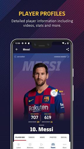 FC Barcelona Official App 7 تصوير الشاشة