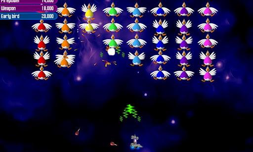 Chicken Invaders 2 screenshot 1