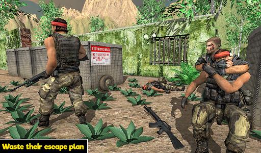 Commando behind the Jail- Escape Plan 2019 screenshot 5