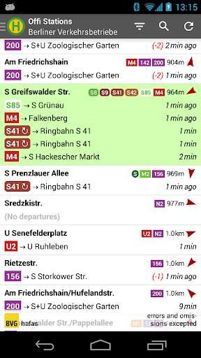 Offi - Journey Planner 1 تصوير الشاشة