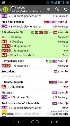 Offi - Journey Planner screenshot 1