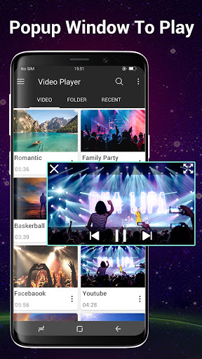 Video Player All Format for Android screenshot 2